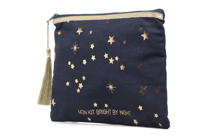 Petite Maroquinerie Petite mendigote Pochette Kit de Survie Bleu vue portées chaussures