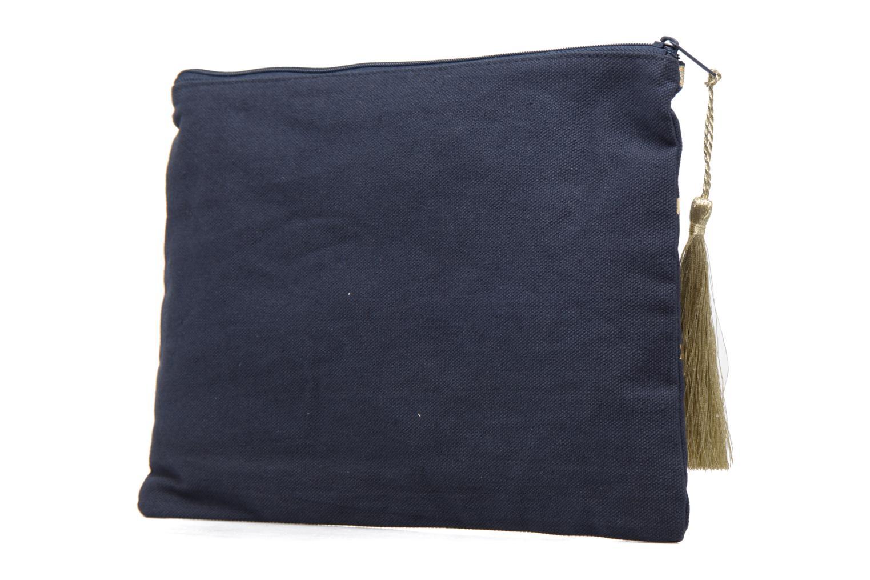 Petite Maroquinerie Petite mendigote Pochette Kit de Survie Bleu vue droite