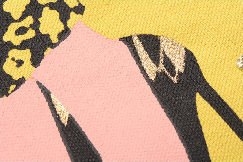 Petite Maroquinerie Petite mendigote Pochette Kit de Survie Jaune vue gauche