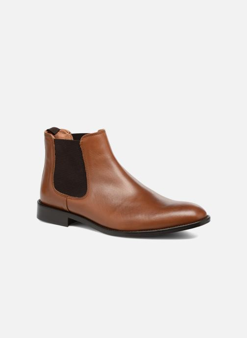 Bottines et boots Marvin&Co Rothwell Marron vue détail/paire