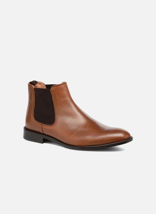 Bottines et boots Marvin&Co Rothwell Marron vue détail/paire