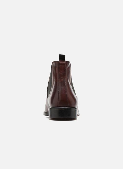 Bottines et boots Marvin&Co Rothwell Bordeaux vue droite