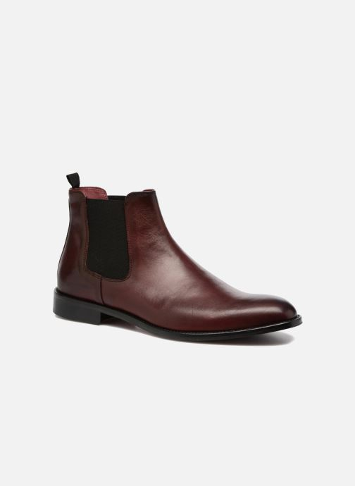 Bottines et boots Marvin&Co Rothwell Bordeaux vue détail/paire