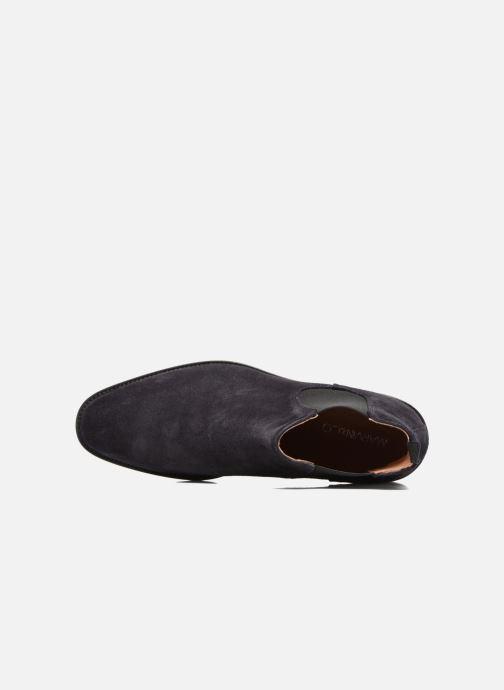 Bottines et boots Marvin&Co Rothwell Bleu vue gauche