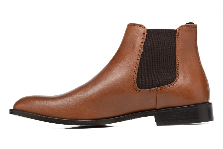 Bottines et boots Marvin&Co Rothwell Marron vue face