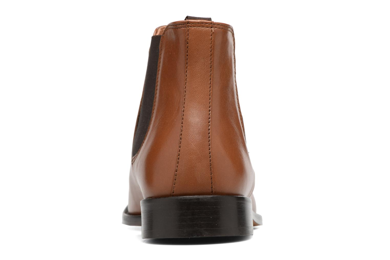 Bottines et boots Marvin&Co Rothwell Marron vue droite