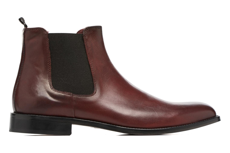 Boots en enkellaarsjes Marvin&Co Rothwell Bordeaux achterkant