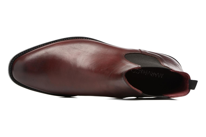 Boots en enkellaarsjes Marvin&Co Rothwell Bordeaux links