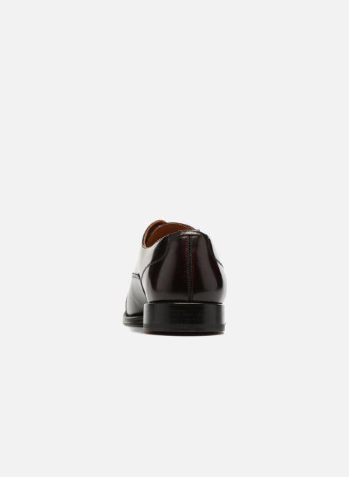 Chaussures à lacets Marvin&Co Retford Bordeaux vue droite