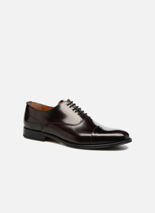 Chaussures à lacets Marvin&Co Retford Bordeaux vue détail/paire