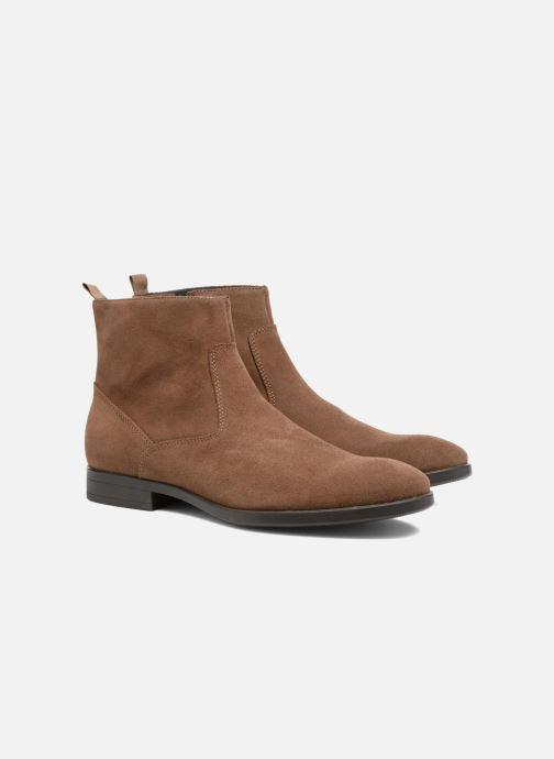 Mr Bottines Sarenza Et Randy 309281 Boots beige Chez qgTSaq