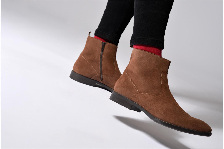 Bottines et boots Mr SARENZA Randy Noir vue bas / vue portée sac