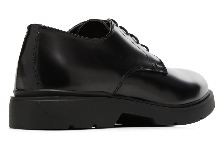 Zapatos con cordones Mr SARENZA Rebelar Negro vista de frente