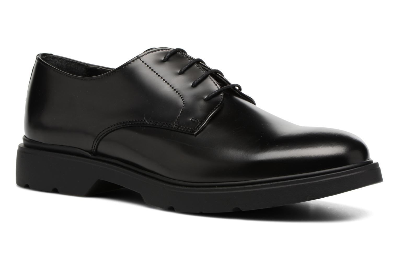 Zapatos con cordones Mr SARENZA Rebelar Negro vista lateral derecha
