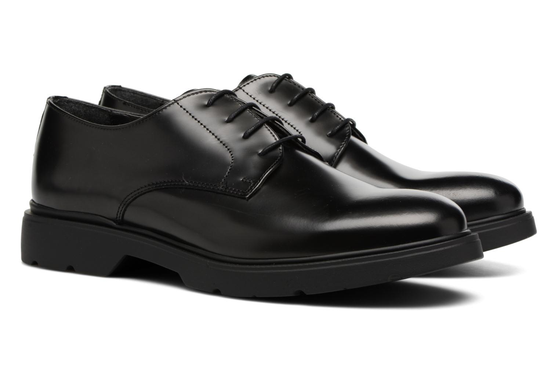 Zapatos con cordones Mr SARENZA Rebelar Negro vistra trasera