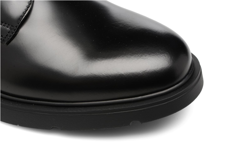 Zapatos con cordones Mr SARENZA Rebelar Negro vista lateral izquierda