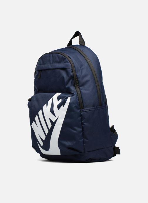 Sacs à dos Nike Nike Elemental Backpack Bleu vue portées chaussures