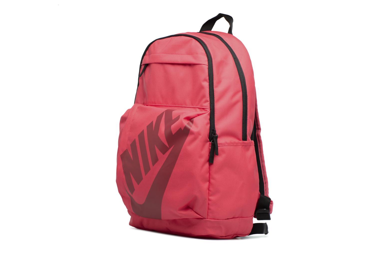 Sacs à dos Nike Nike Elemental Backpack Rose vue portées chaussures