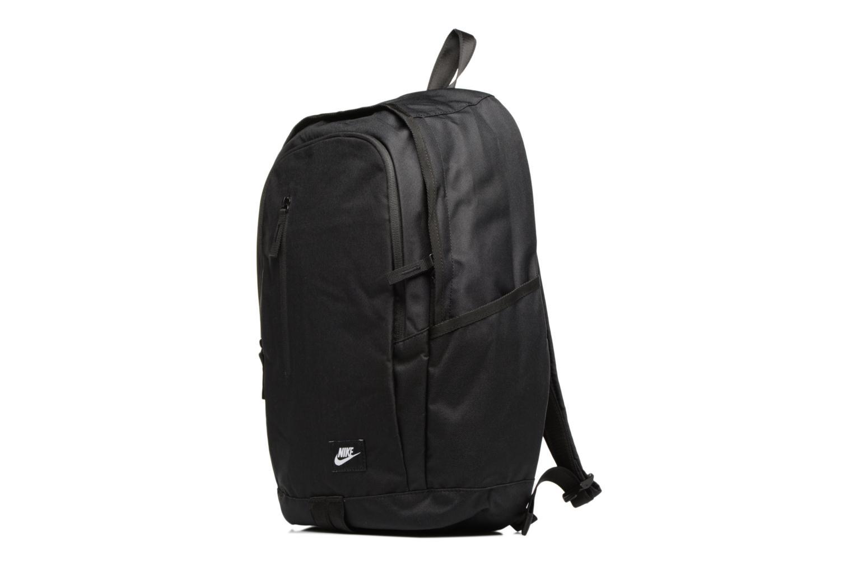 Rucksäcke Nike Nike Soleday Backpack S schwarz schuhe getragen