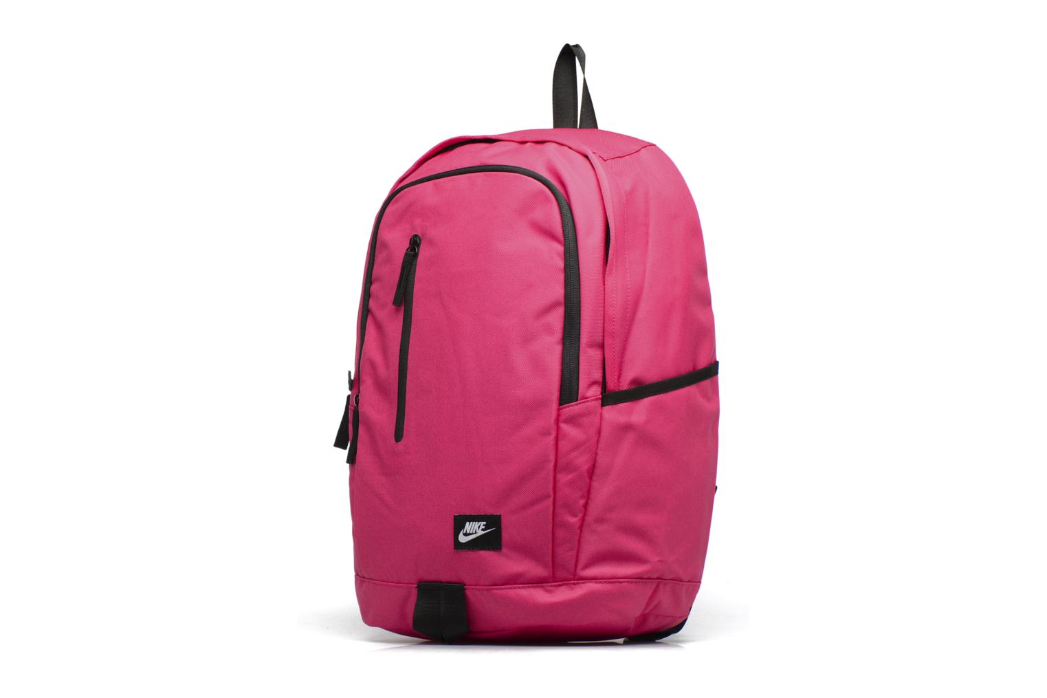 Sacs à dos Nike Nike Soleday Backpack S Rose vue portées chaussures