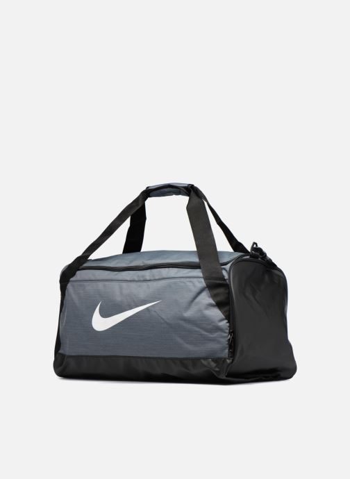 Sacs de sport Nike Nike Brasilia Training Duffel Bag M Gris vue portées chaussures