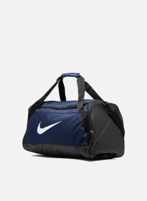Sacs de sport Nike Nike Brasilia Training Duffel Bag M Bleu vue portées chaussures