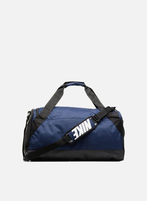 Sporttassen Nike Nike Brasilia Training Duffel Bag M Blauw voorkant