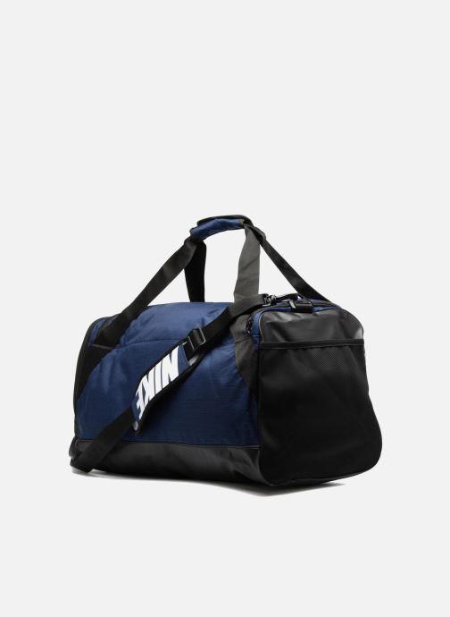 Sporttaschen Nike Nike Brasilia Training Duffel Bag M blau ansicht von rechts