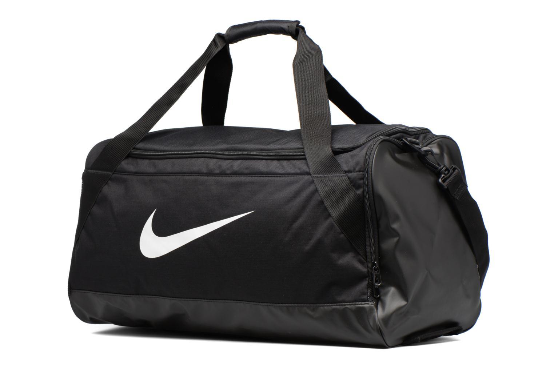 Sacs de sport Nike Nike Brasilia Training Duffel Bag M Noir vue portées chaussures