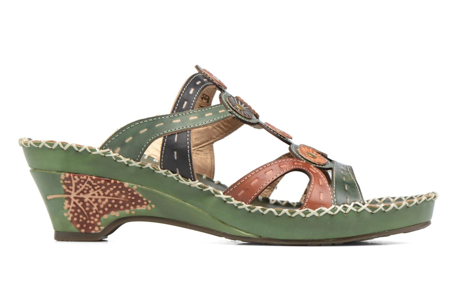 Mules & clogs Laura Vita Vana Green back view