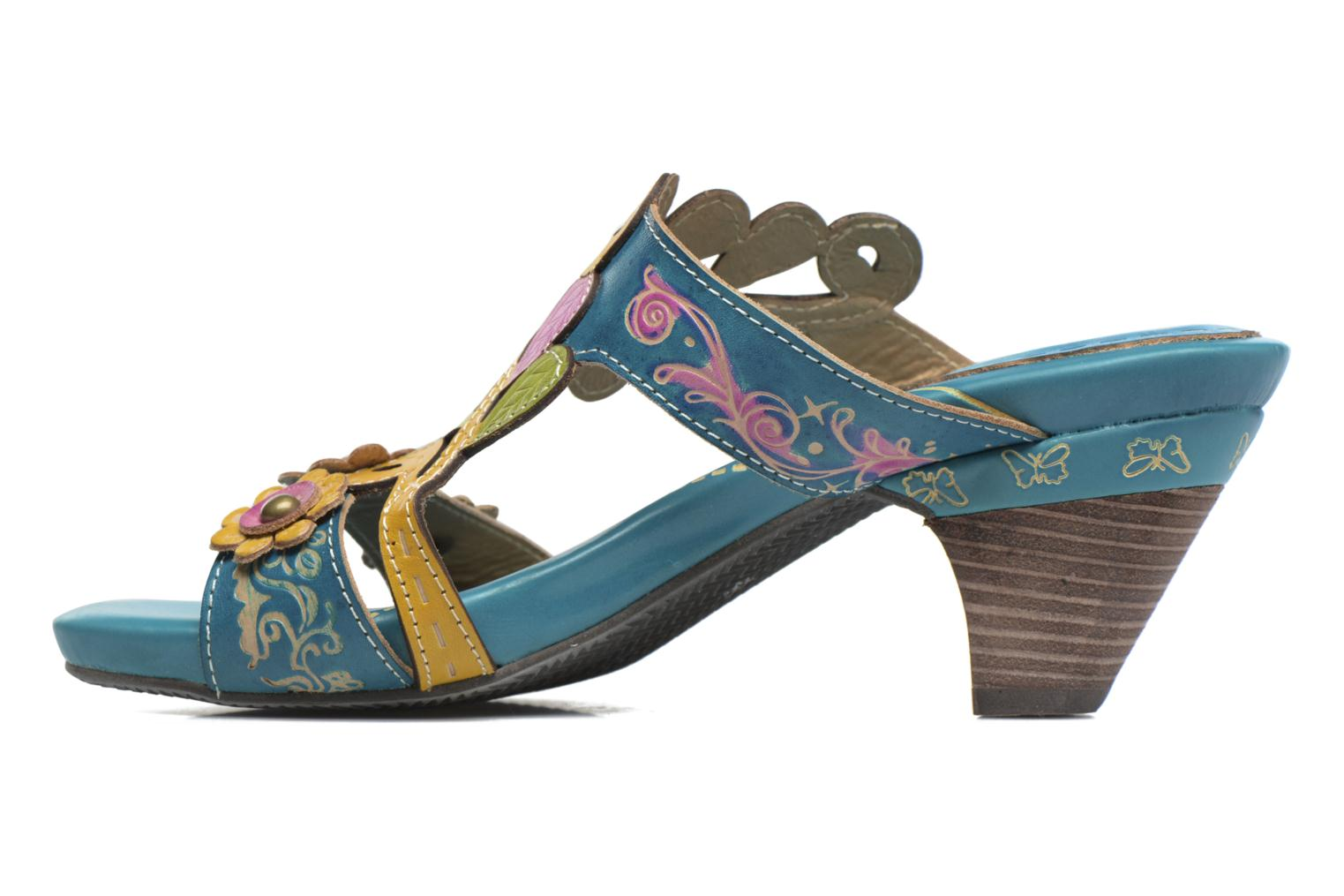 Mules & clogs Laura Vita Verjus Blue front view