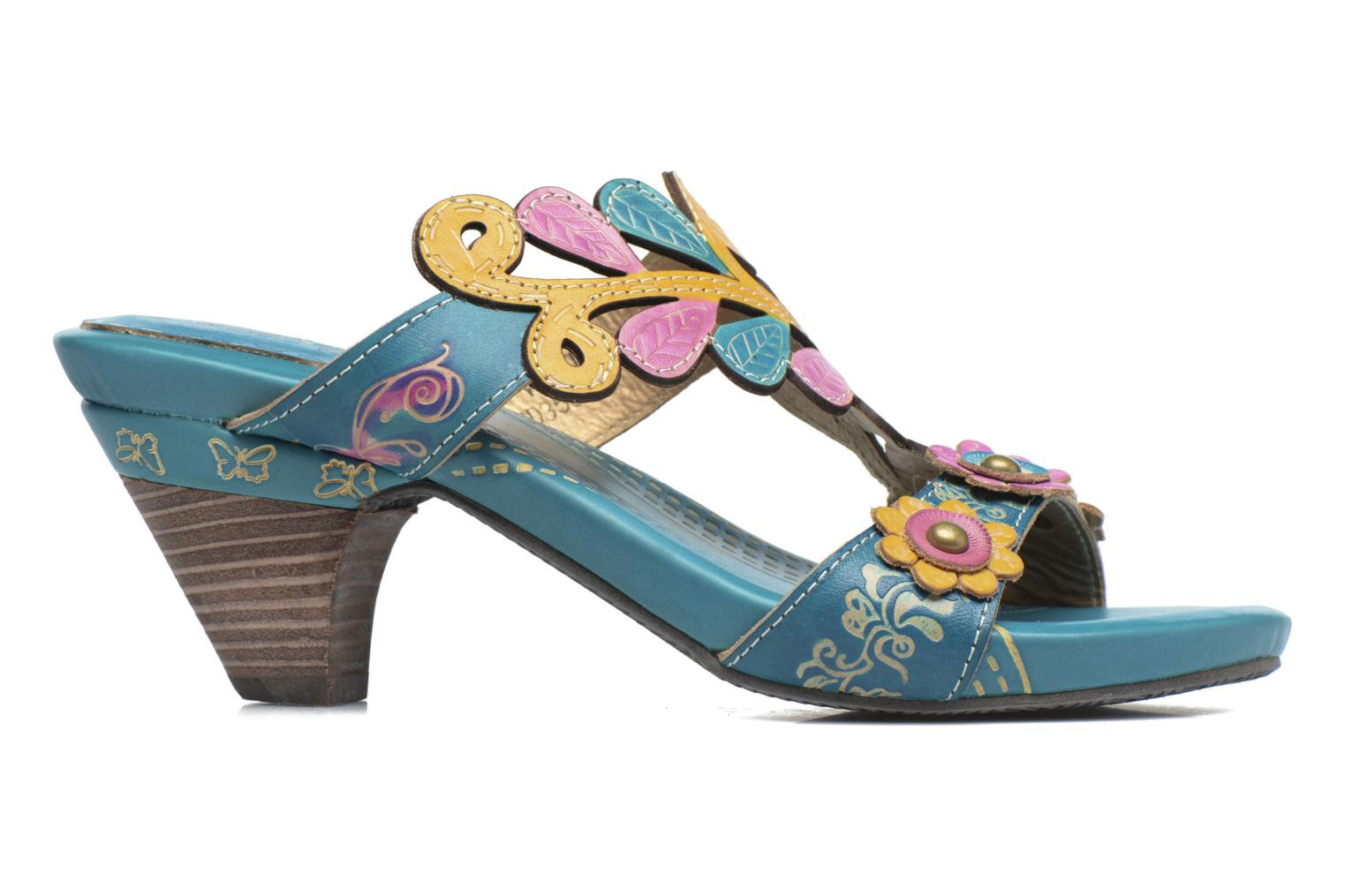 Mules & clogs Laura Vita Verjus Blue back view
