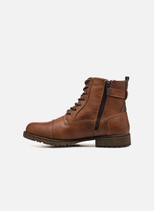 Boots en enkellaarsjes Mustang shoes Valedi Bruin voorkant