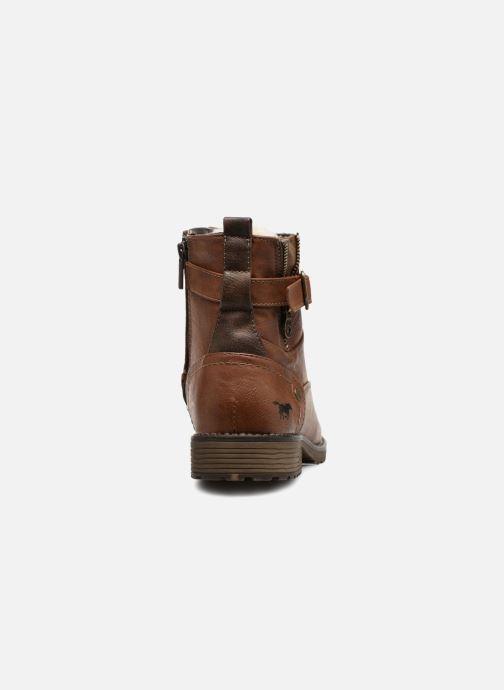 Boots en enkellaarsjes Mustang shoes Valedi Bruin rechts