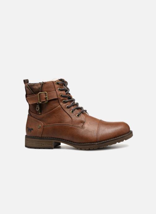 Boots en enkellaarsjes Mustang shoes Valedi Bruin achterkant
