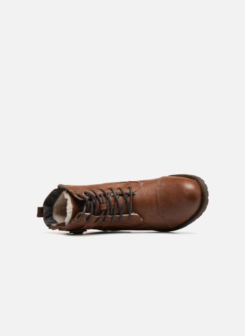 Boots en enkellaarsjes Mustang shoes Valedi Bruin links