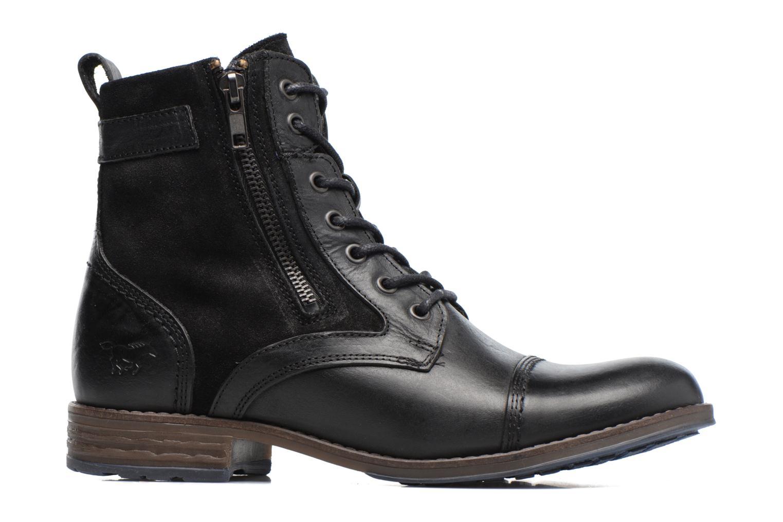 Bottines et boots Mustang shoes Maburgat Noir vue derrière