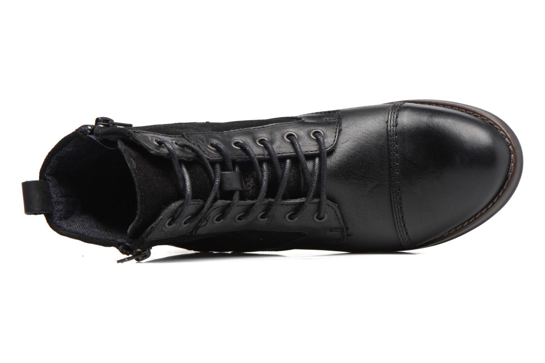 Bottines et boots Mustang shoes Maburgat Noir vue gauche