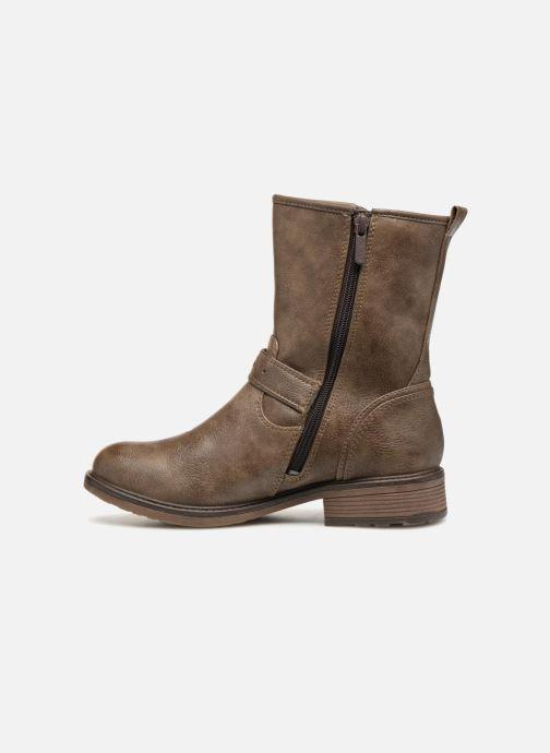 Bottines et boots Mustang shoes Ellogua Marron vue face
