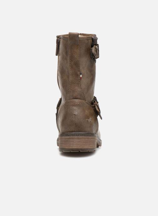 Bottines et boots Mustang shoes Ellogua Marron vue droite