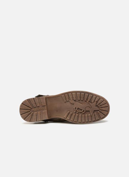 Bottines et boots Mustang shoes Ellogua Marron vue haut