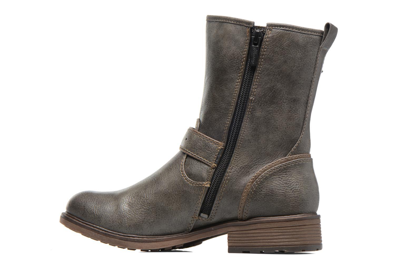 Bottines et boots Mustang shoes Ellogua Gris vue face