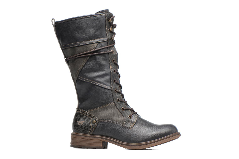 Bottines et boots Mustang shoes Plipse Gris vue derrière