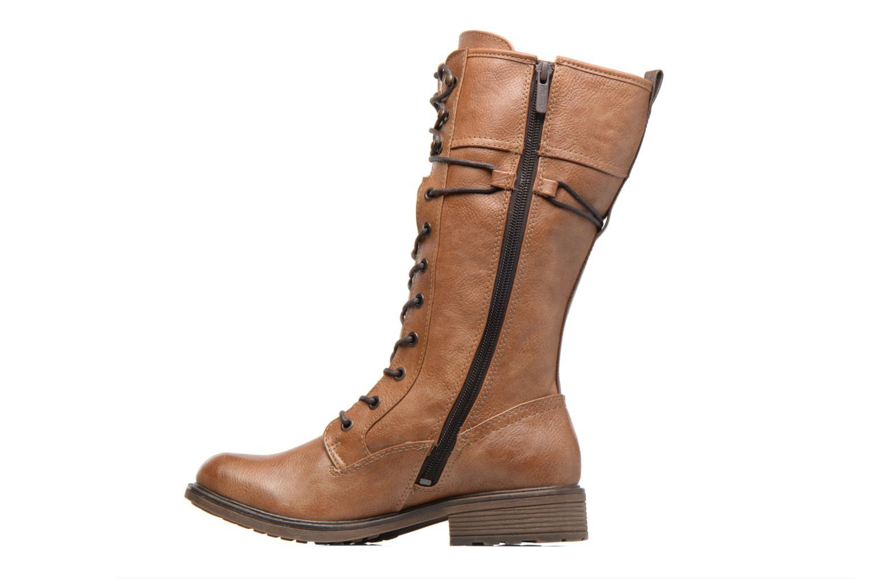 Bottines et boots Mustang shoes Plipse Marron vue face