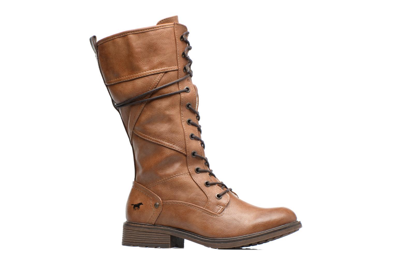 Bottines et boots Mustang shoes Plipse Marron vue derrière