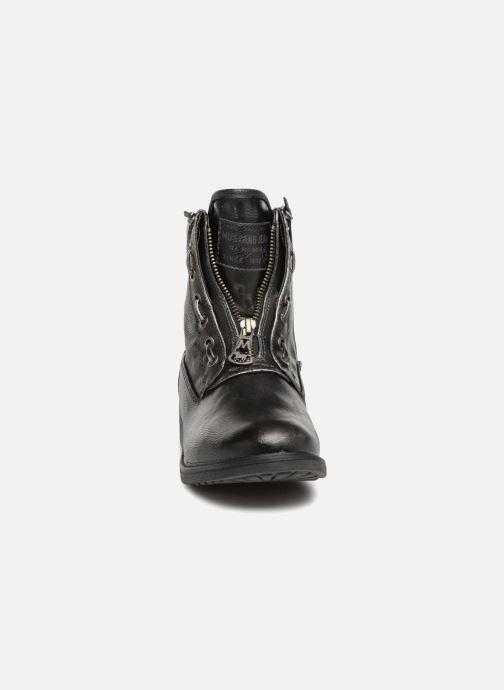 Boots en enkellaarsjes Mustang shoes Madaner Grijs model