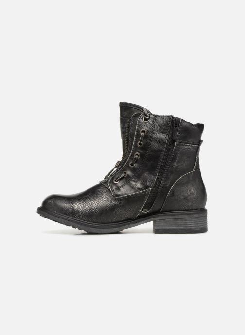 Boots en enkellaarsjes Mustang shoes Madaner Grijs voorkant