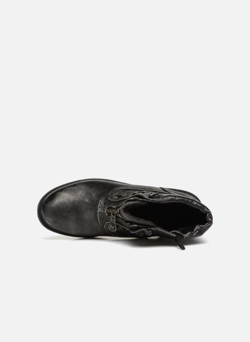 Boots en enkellaarsjes Mustang shoes Madaner Grijs links