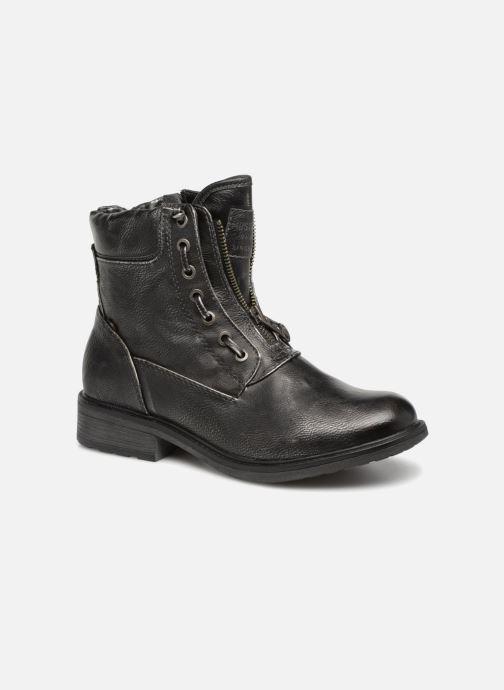 Boots en enkellaarsjes Mustang shoes Madaner Grijs detail