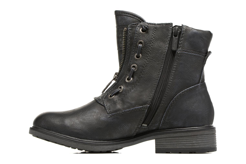 Bottines et boots Mustang shoes Madaner Bleu vue face